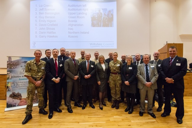 Agreement to create a regional body to support the military community