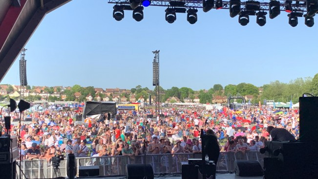 Huge success for Salisbury Armed Forces Event