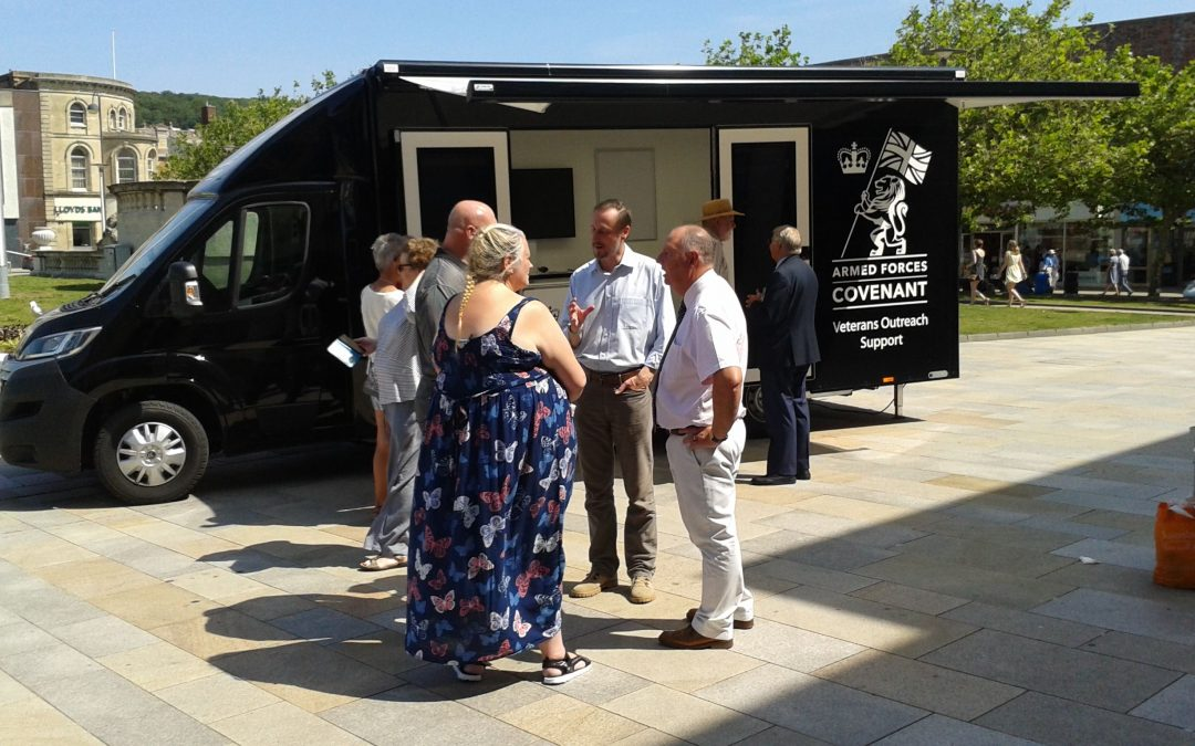 South West's new mobile Veterans Outreach Support service on the road