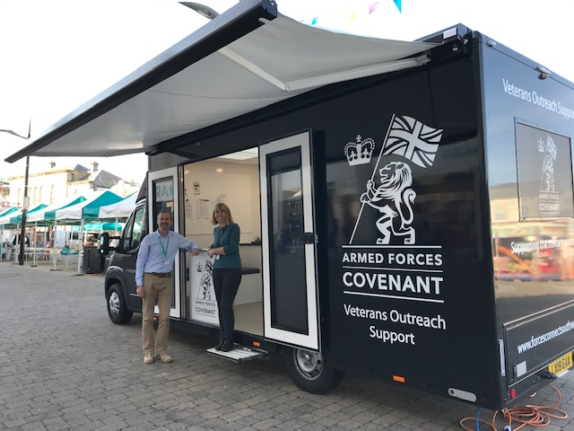 Truro Success with Regions New Mobile Veterans Outreach Support Service