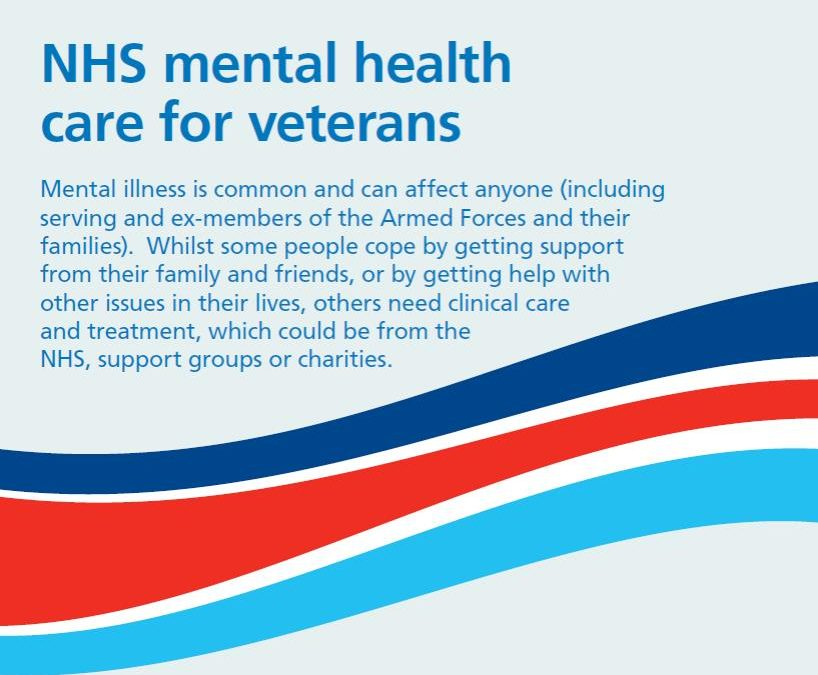 NHS Launches New Veterans' Mental Health Service – Op Courage
